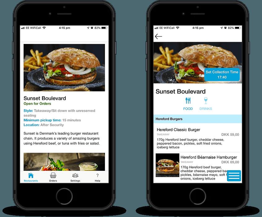 JumpQ food ordering app development