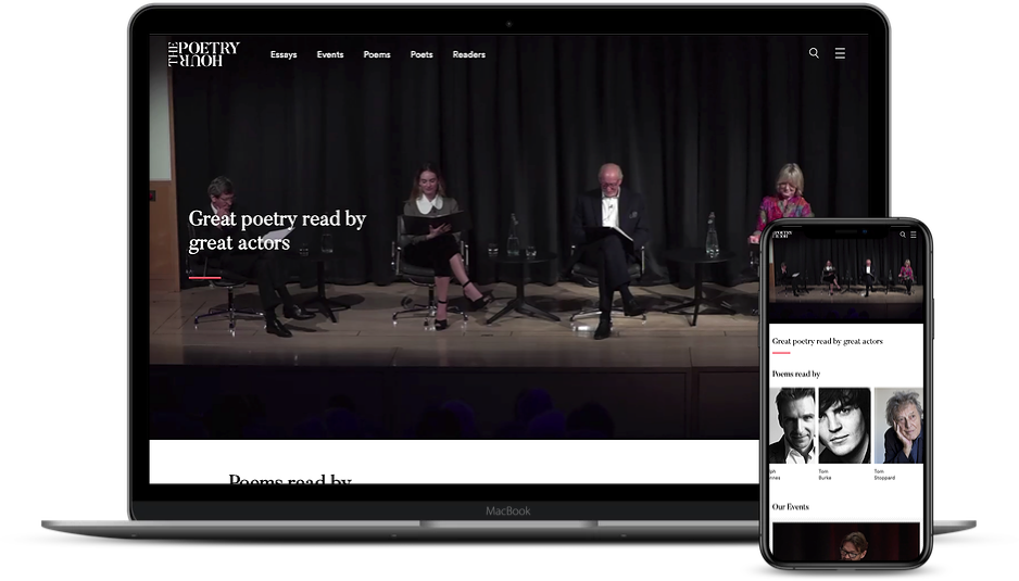 The Poetry Hour from The Josephine Hart Poetry Foundation